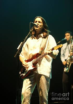 Ringo Starr Photograph - Musician Roger Hodgson by Front Row  Photographs