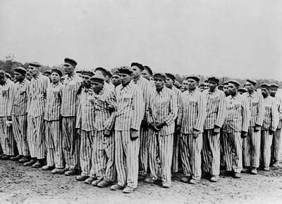 Genocides Photograph - Roll Call At Buchenwald Concentration by Everett