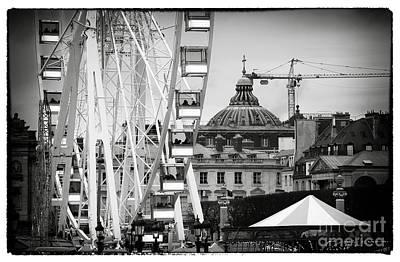 Roller Coaster Photograph - Roller Coaster In Paris by John Rizzuto