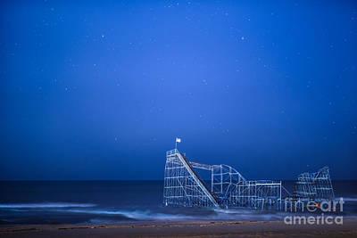 Roller Coaster Stars Print by Michael Ver Sprill