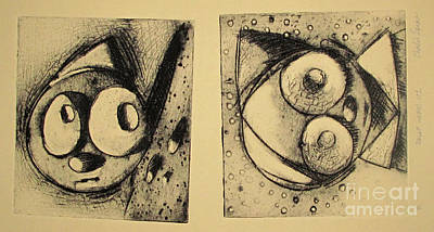 Rollie1 And Rollie 2  Archived Print by Charlie Spear