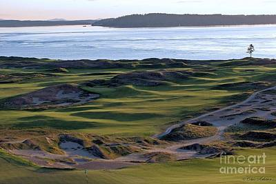 Us Open Photograph - Rolling Green - Chambers Bay Golf Course by Chris Anderson