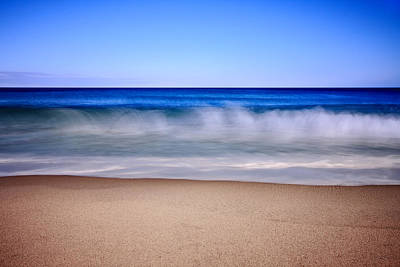 Beach Photograph - Rolling Ocean Waves by Dapixara Art