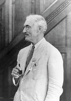 Heredity Photograph - Rollins Emerson by American Philosophical Society