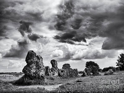 Rollright Stones Print by Tim Gainey