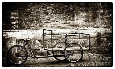 Rome Photograph - Roma Big Basket by John Rizzuto