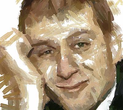 Roman Abramovich Life Is Good Print by Yury Malkov