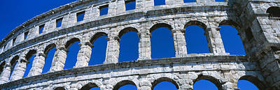 Repetition Photograph - Roman Amphitheater, Pula, Croatia by Panoramic Images