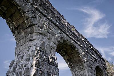 Roman Aqueducts II Original by Joan Carroll