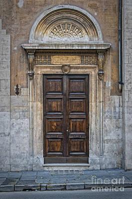 Roman Doors Print by Antony McAulay