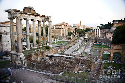 Roman Forum Original by Jim  Calarese