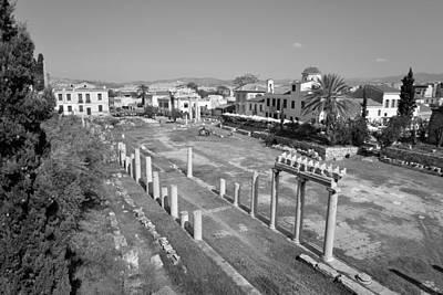 Greek Photograph - Roman Market by George Atsametakis