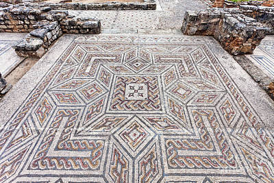 Mosaico Photograph - Roman Mosaics by Jose Elias - Sofia Pereira