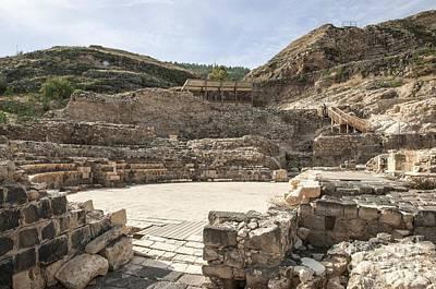 Roman Ruins Print by Photostock-israel