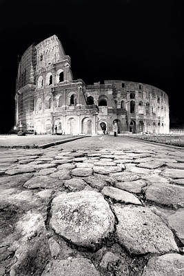 Rome Colloseum Print by Nina Papiorek