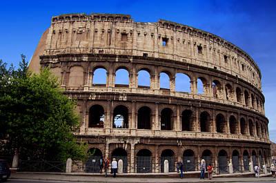 Rome Colosseum. Print by Mirko Dabic