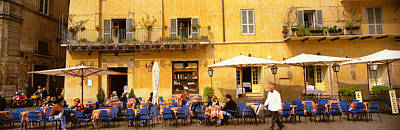 People Watching Photograph - Rome Italy by Panoramic Images