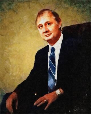 Man Painting - Ron Kolker by Jeff Kolker