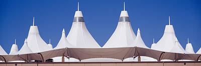 International Airport Photograph - Roof Of A Terminal Building At An by Panoramic Images
