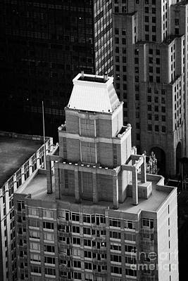 Roof Of The Belvedere Building New York City Print by Joe Fox
