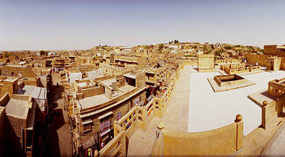 Rooftop Photograph - Rooftop View Of Buildings In A City by Panoramic Images