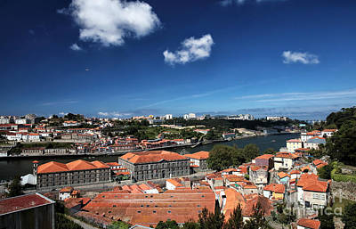Old Home Place Photograph - Rooftops In Porto by John Rizzuto