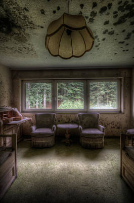 Abandoned House Digital Art - Room For Two by Nathan Wright