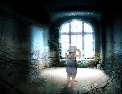 Teddybear Digital Art - Room Of The Past by Gun Legler