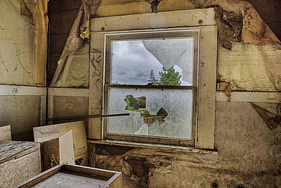 Old Houses Photograph - Room With A View by Caitlyn  Grasso