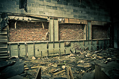 Abandoned Photograph - Room With A View by Priya Ghose