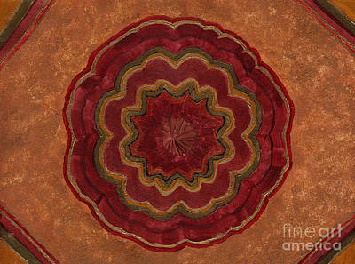 Chakra Painting - Root Flower by Julia Stubbe