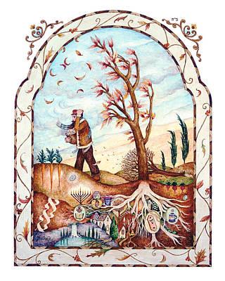 Roots Print by Michoel Muchnik