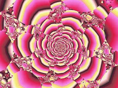 Beauty Digital Art - Rose by Anastasiya Malakhova
