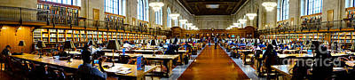 Rose Main Reading Room New York Public Library Print by Amy Cicconi