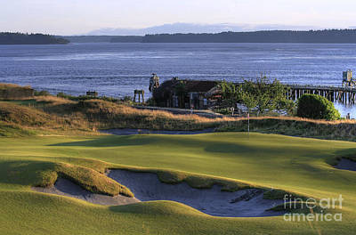 Us Open Photograph - Hole 17 Hdr by Chris Anderson