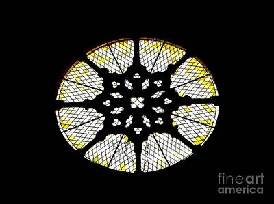 Rose Window Print by Jose Elias - Sofia Pereira