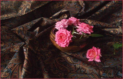 Photograph - Roses And Paisley by J R Baldini M Photog CR