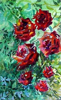 Mystic Drawing - Roses by Mindy Newman