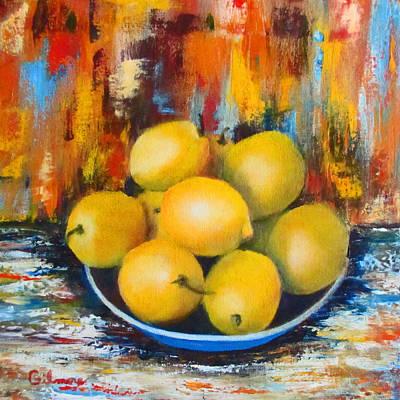 Painting - Rosie's Harvest by Roseann Gilmore