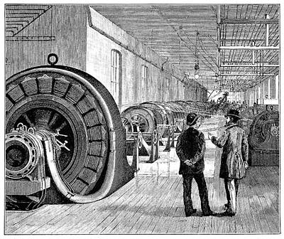 Rotary Transformers Print by Science Photo Library