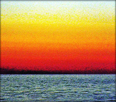 Photograph - Rothko's Sea #2 by Stefano Filesi