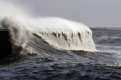 Cobb Photograph - Rough Sea by Colin Varndell