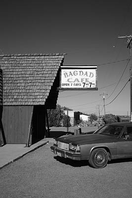 Route 66 - Bagdad Cafe 6 Print by Frank Romeo