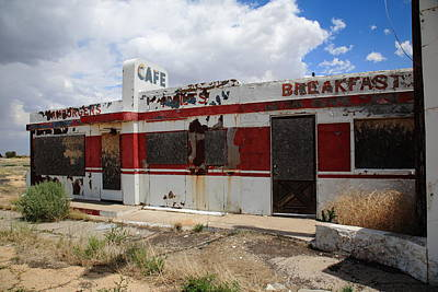 Mural Photograph - Route 66 Diner 6 by Frank Romeo