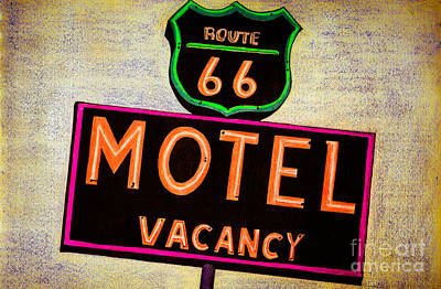 Explore Drawing - Route 66 Drawing by Dan Julien