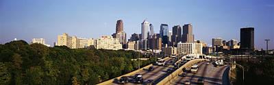 Philadelphia Pa Photograph - Route 76 Skyline Philadelphia Pa Usa by Panoramic Images