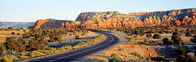 Curving Road Photograph - Route 84 Nm Usa by Panoramic Images