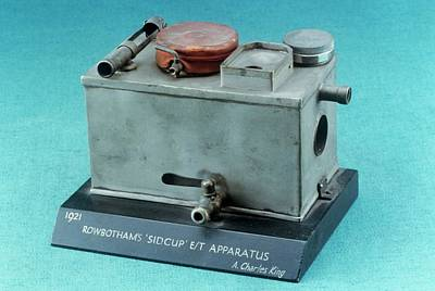 Machinery Photograph - Rowbotham Endotracheal Apparatus by Science Photo Library