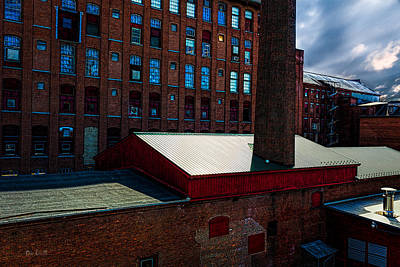 Roy Hill Mill  Print by Bob Orsillo