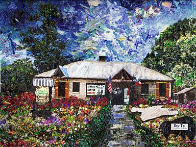 Ts Painting - Roy Ts Salado Texas by GretchenArt FineArt